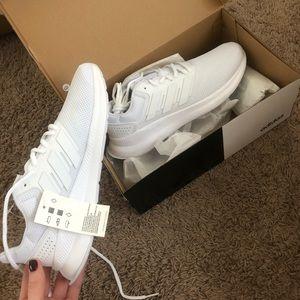 Adidas flacon white womens sneakers